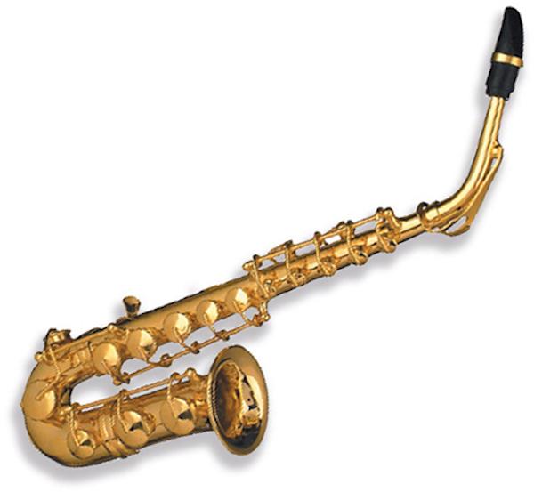 Miniaturpin Saxophon