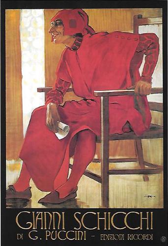 Postkarte Gianni Schicchi