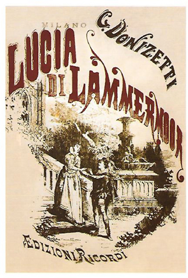 Postkarte Lucia di Lammermoor