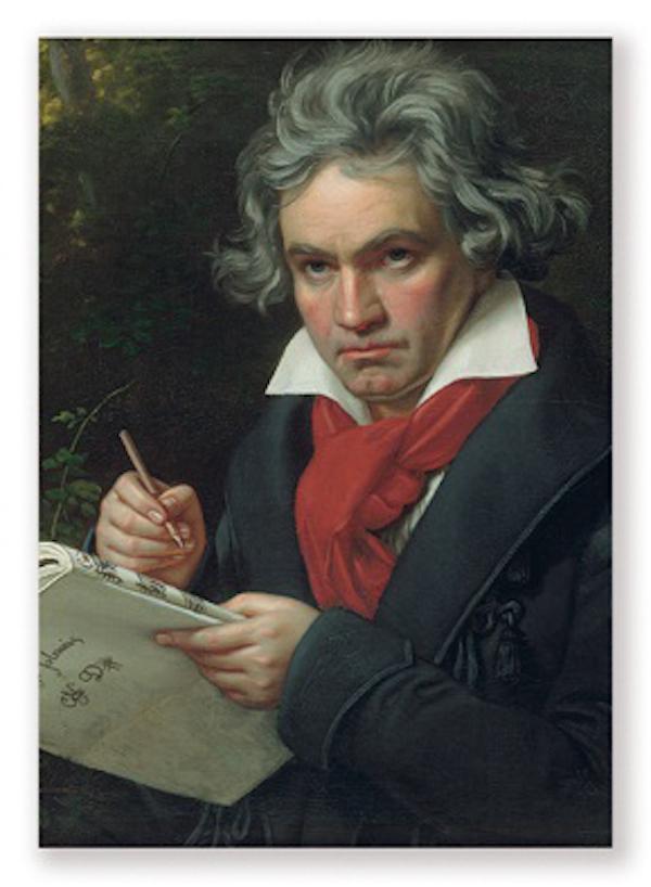 Postkarte Beethoven Portrait