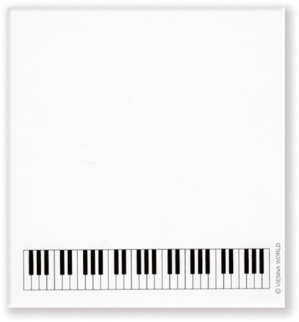 Haftnotizblock Tastatur