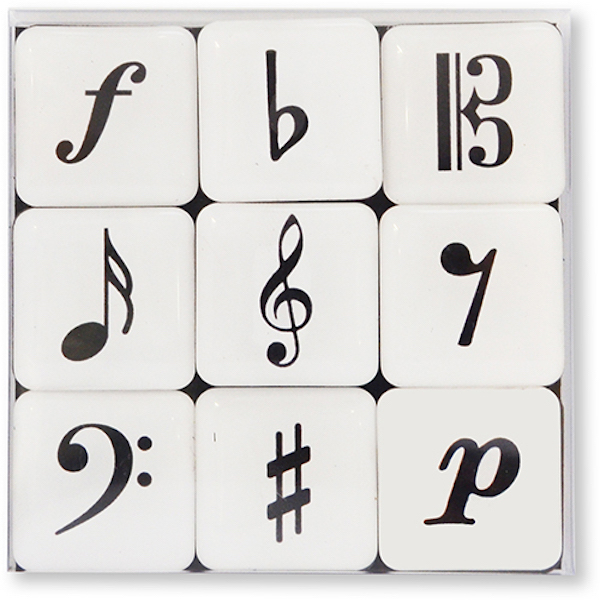 Minimagnetbox Musiksymbole