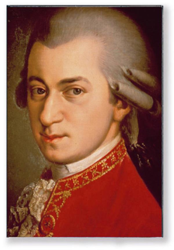Magnet Mozart Portrait