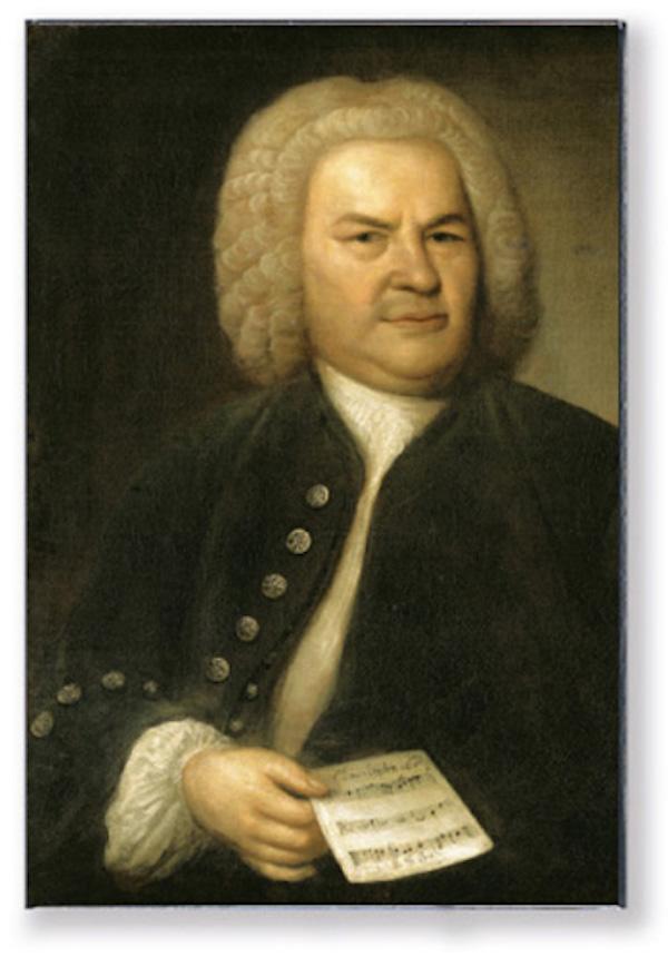Magnet Bach Portrait