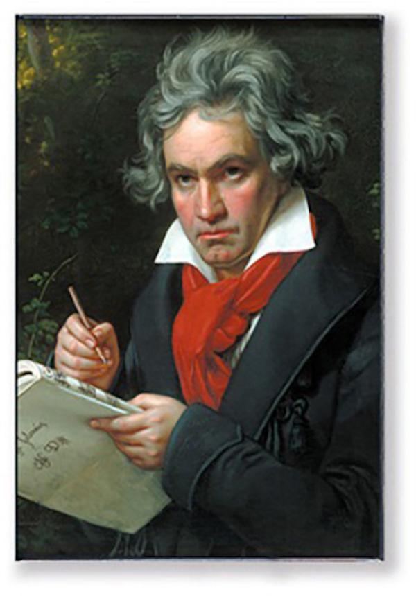 Magnet Beethoven Portrait