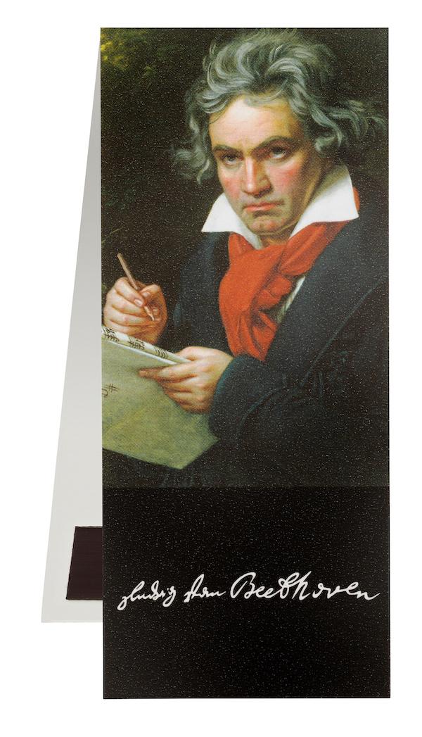 Lesezeichen Beethoven Portrait magnetisch