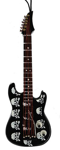 Anhänger Gitarre Totenköpfe