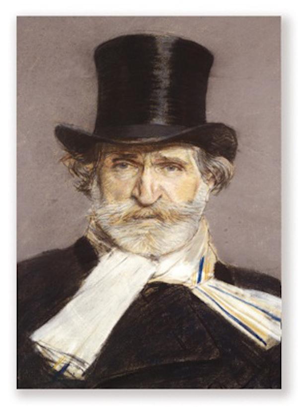 Magnet Verdi Portrait