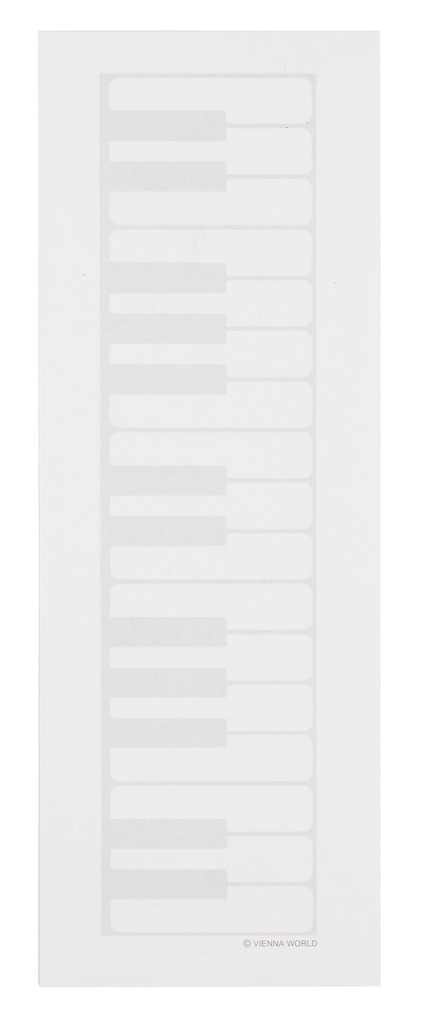 Notizblock Tastatur midi