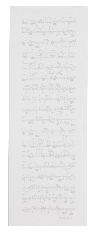 Notizblock Notenblatt midi