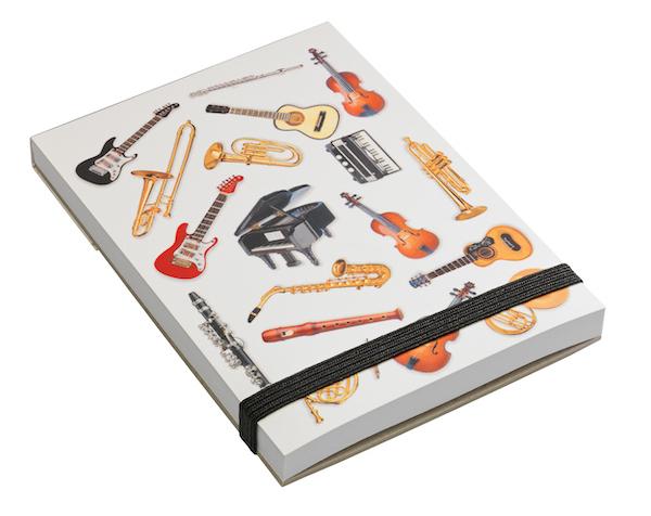 Notizblock Instrumente A7
