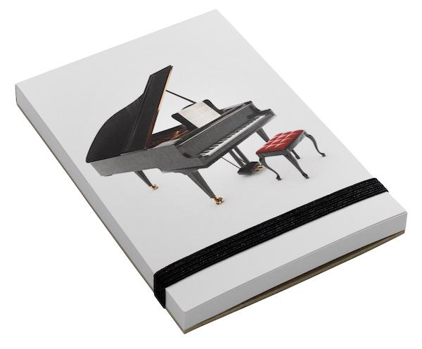 Notizblock Klavier A7
