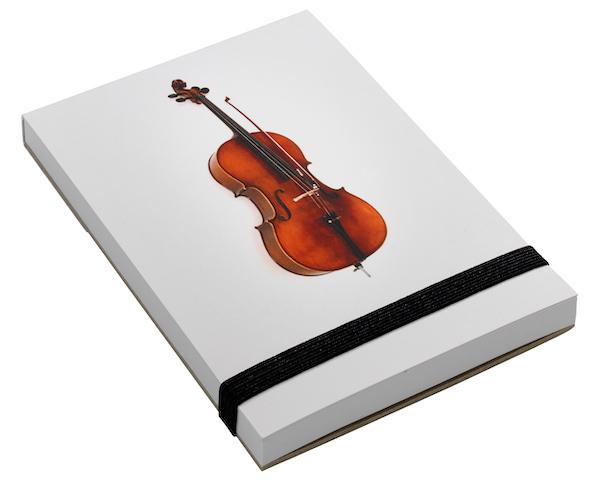 Notizblock Cello A7