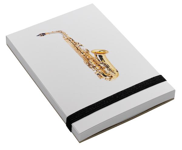 Notepad Saxophone A7