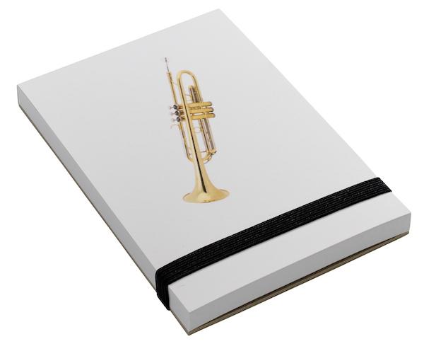 Notizblock Trompete A7