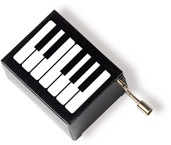 Musikbox Tastatur