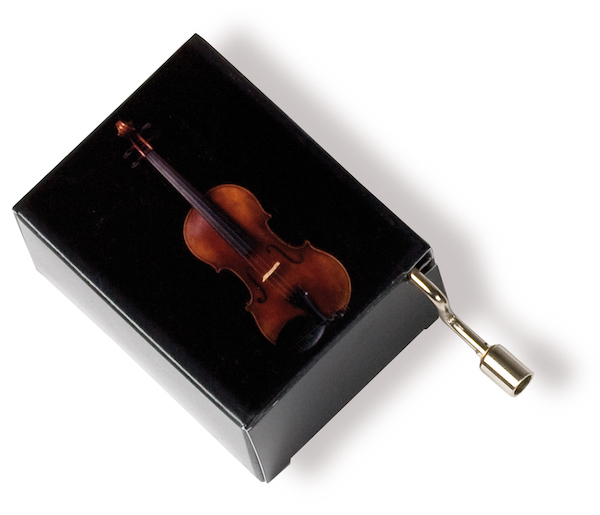 Musikbox Geige