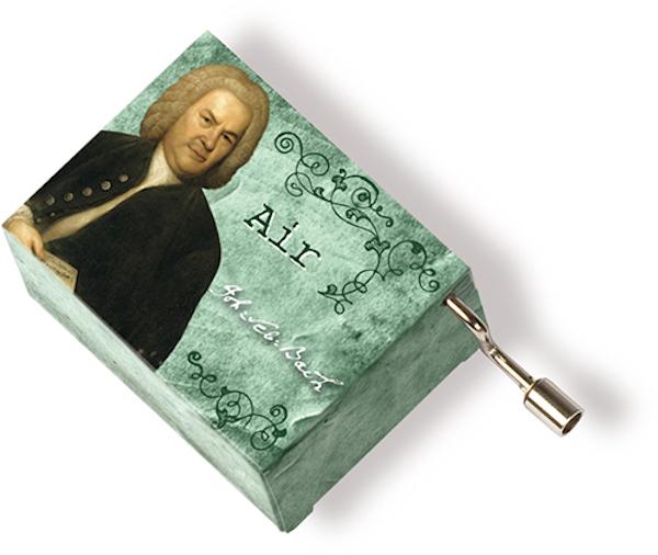 Musikbox Bach grün