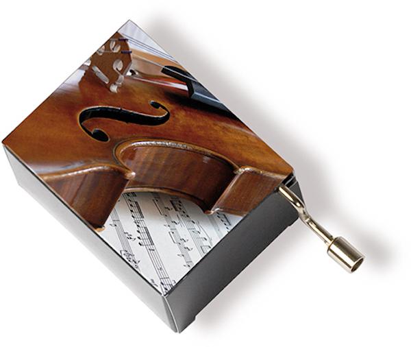 Musikbox Geige/Notenblatt