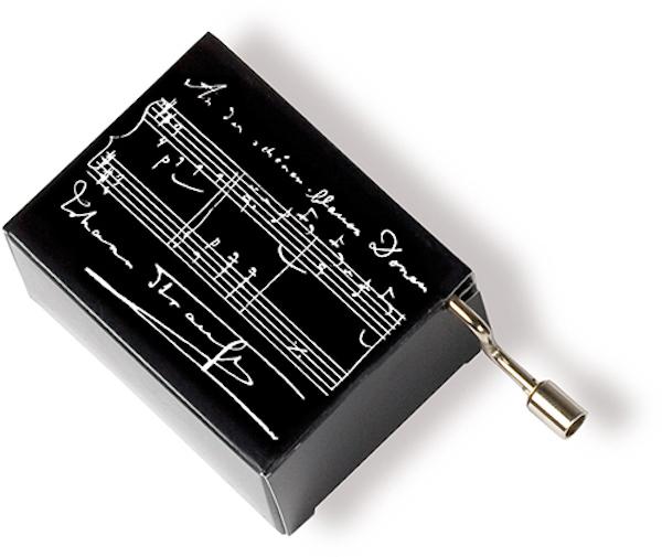 Musikbox Strauss schwarz