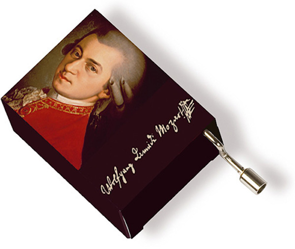 Musikbox Mozart Portrait