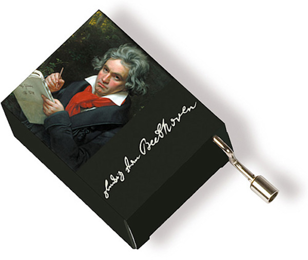 Musikbox Beethoven Portrait