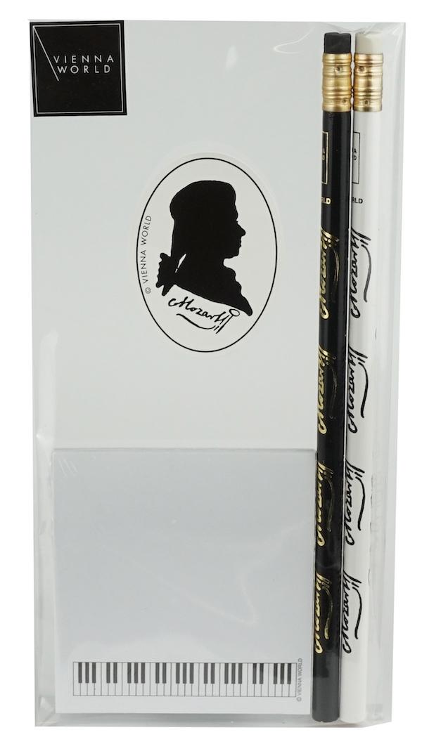 Schreibset Mozart Silhouette 3-tlg