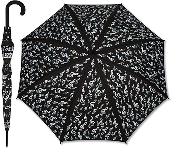 Umbrella G-clef black