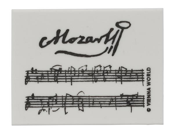 Radiergummi Mozart