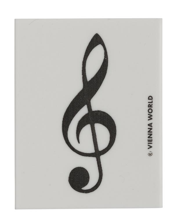 Radiergummi Violinschlüssel