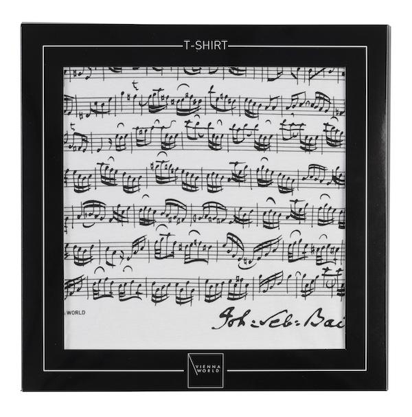 T-Shirt Bach weiss S