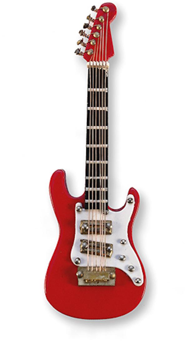 E-Gitarre rot magnetisch