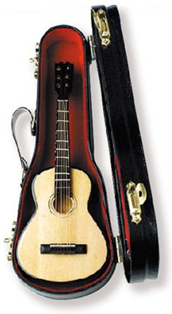 Miniatur Gitarre in Box