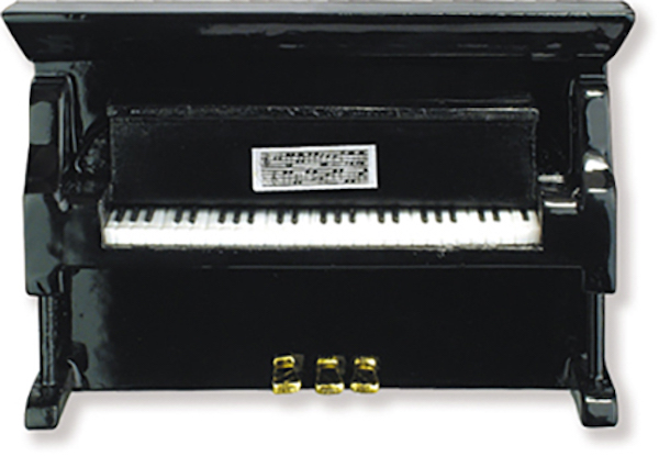 Pianino magnetisch