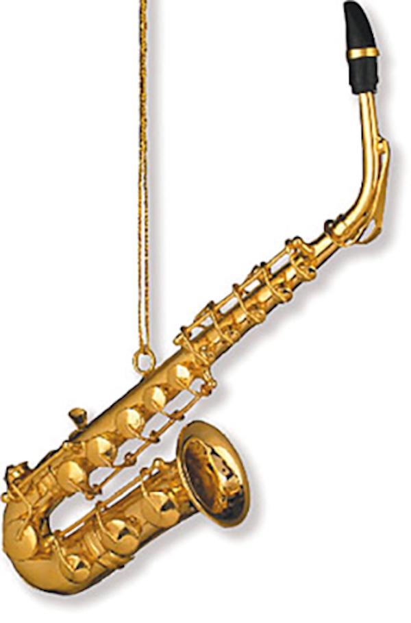 Anhänger Saxophon