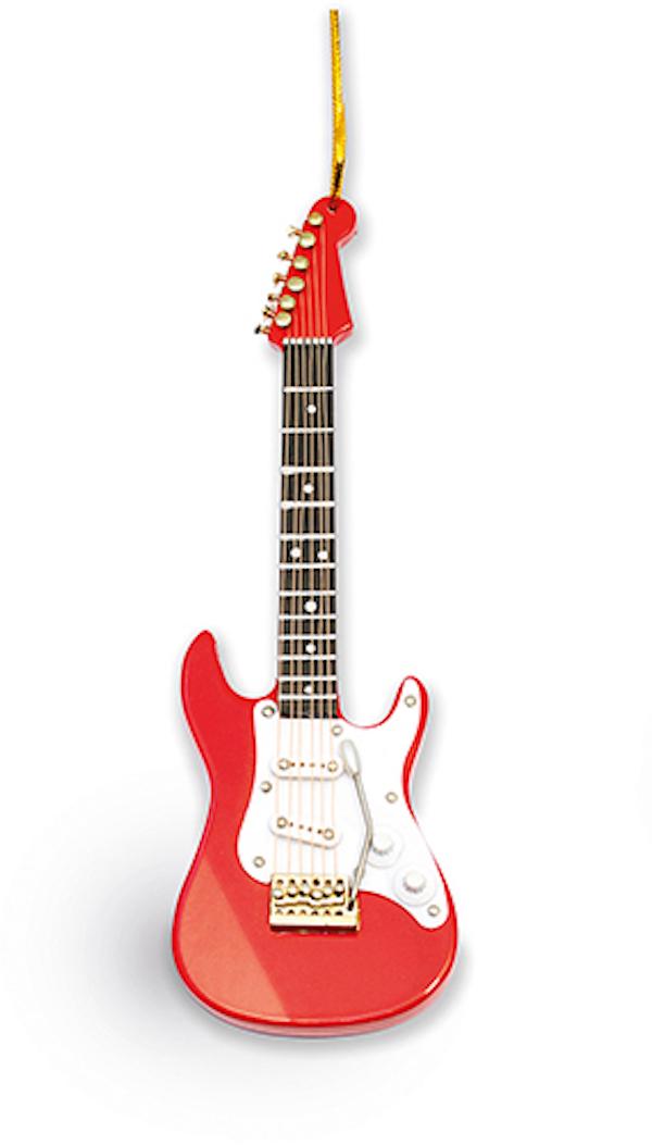 Anhänger E-Gitarre rot