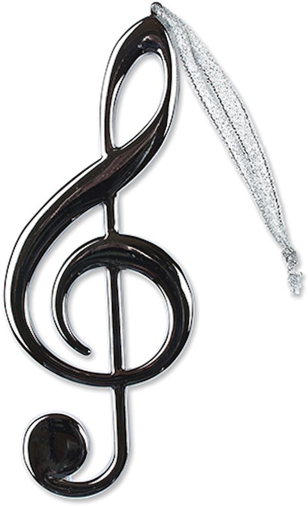 Anhänger Violinschlüssel silber