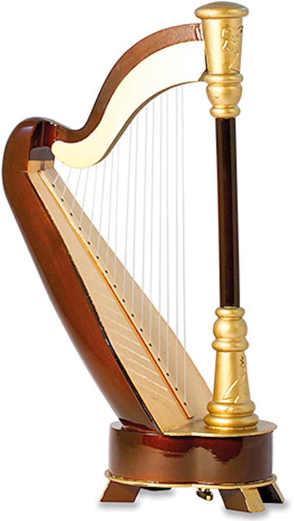 Spieluhr Harfe