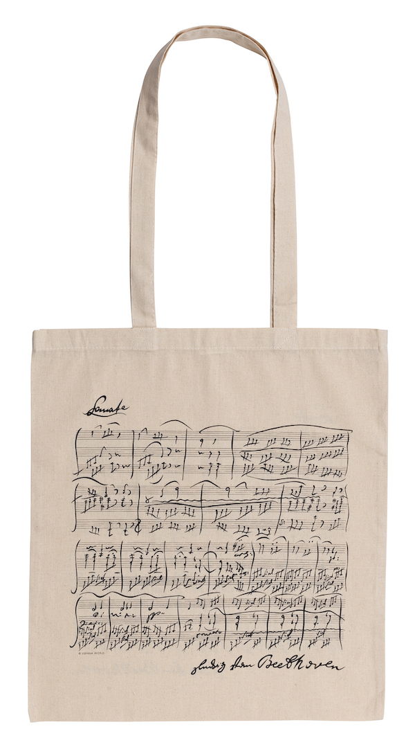 Tragtasche Beethoven natur lang
