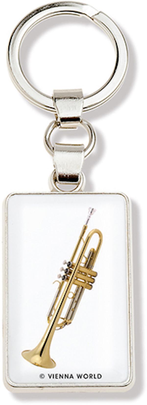Schlüsselanhänger Trompete