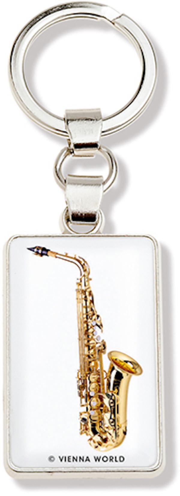 Schlüsselanhänger Saxophon