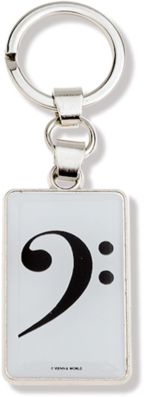 Schlüsselanhänger Bass-Schlüssel