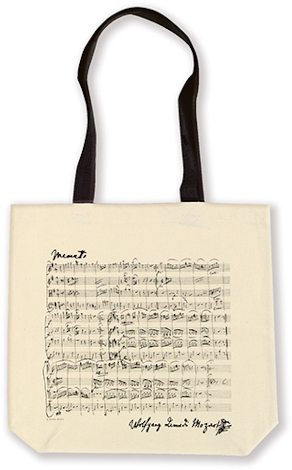 Shopper Mozart natur