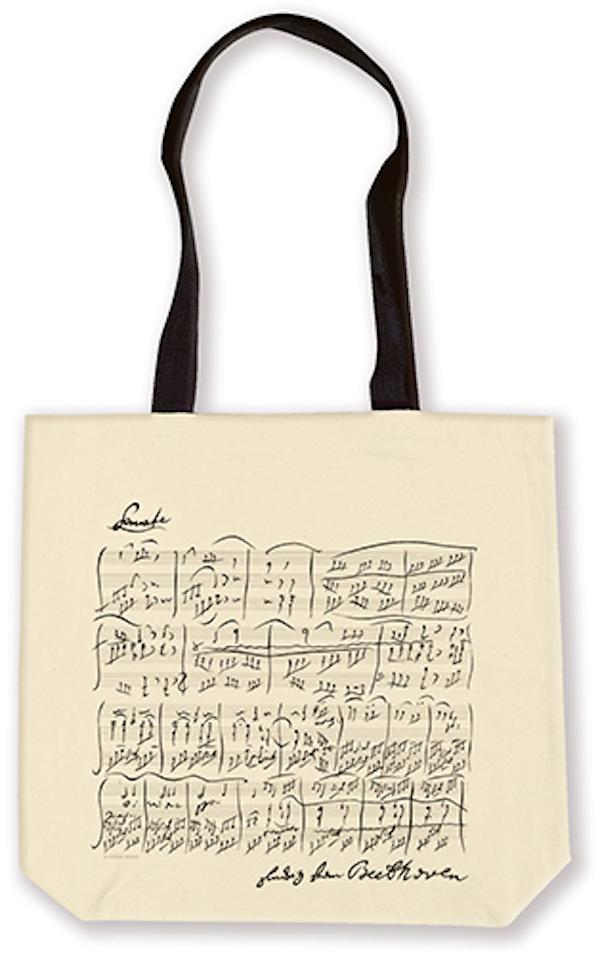 Shopper Beethoven natur