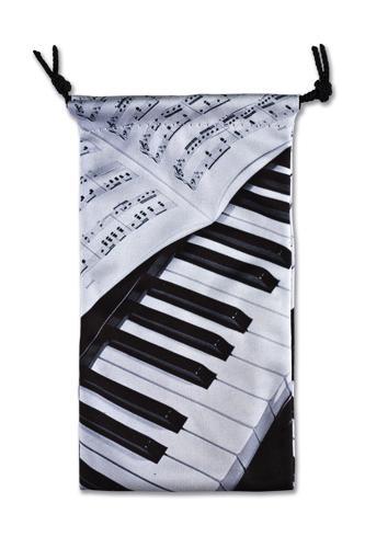 Brillenetui Klavier/Notenblatt