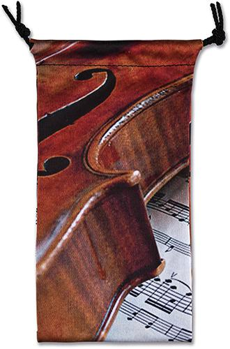 Brillenetui Geige/Notenblatt