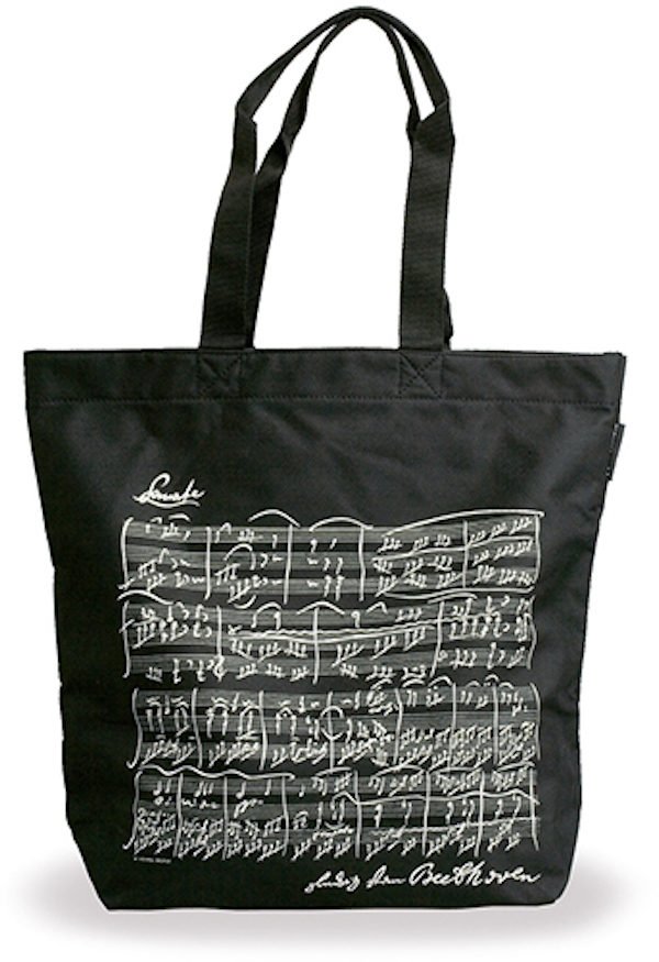 Shopper Beethoven schwarz
