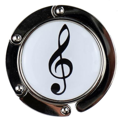 Taschenhalter Violinschlüssel