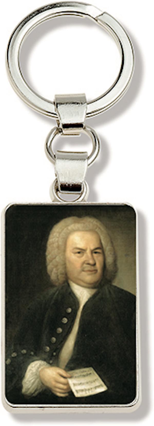 Schlüsselanhänger Bach Portrait