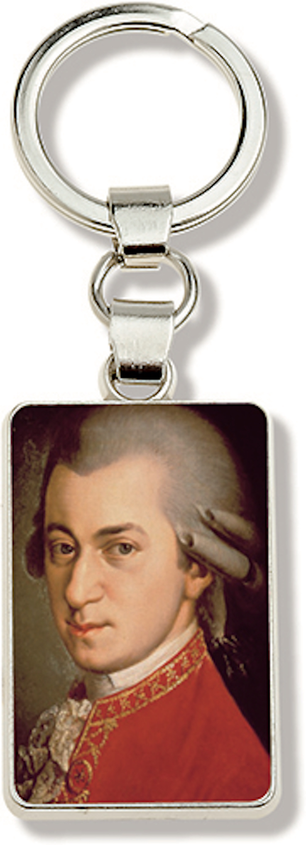 Schlüsselanhänger Mozart Portrait